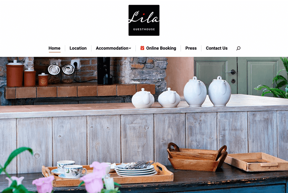 Lila Guesthouse Website 01