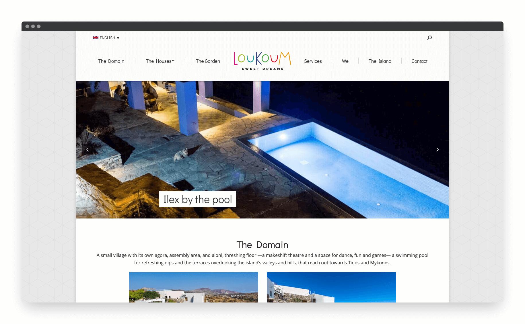 Loukoum Website 1
