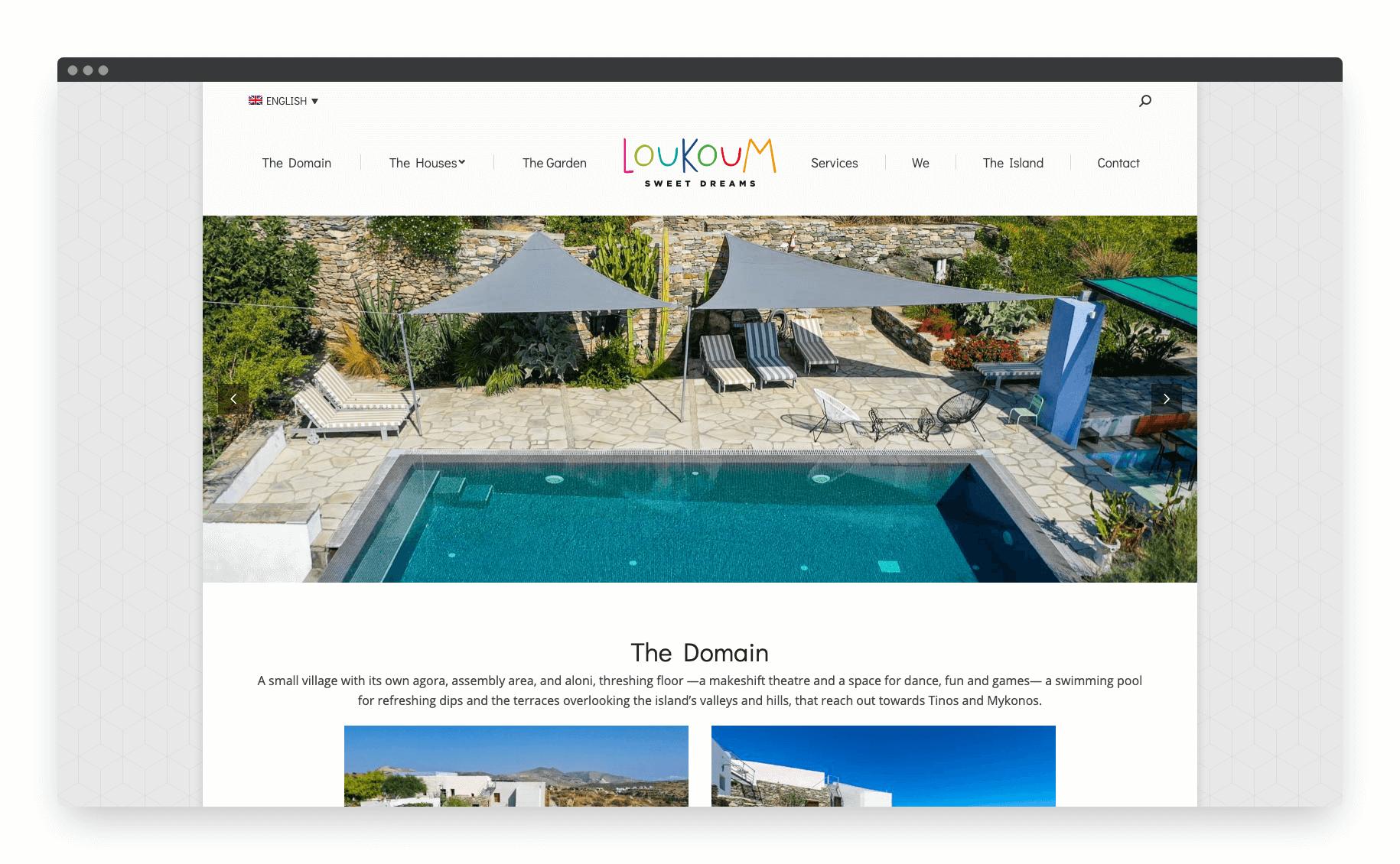 Loukoum Website 2