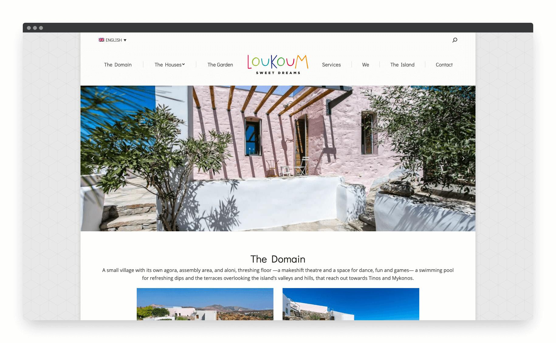 Loukoum Website 3