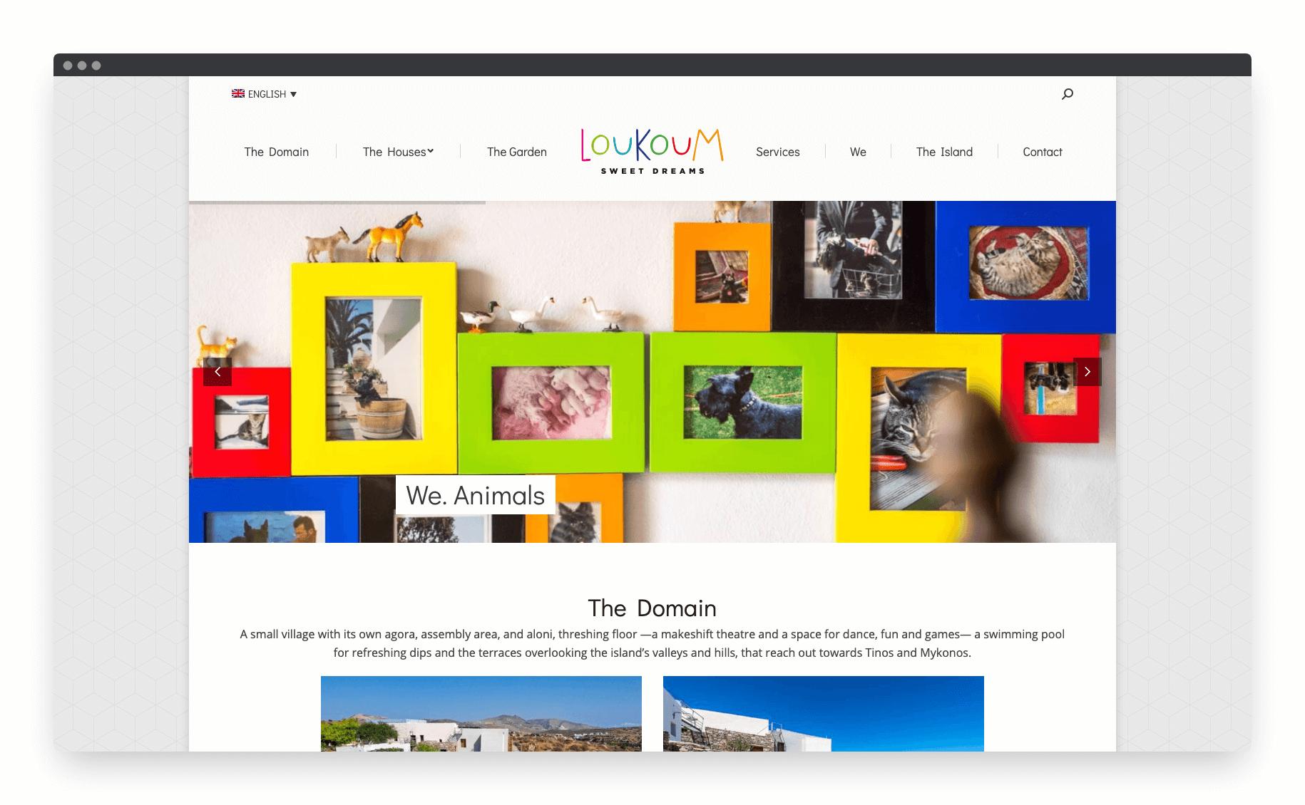 Loukoum Website 6