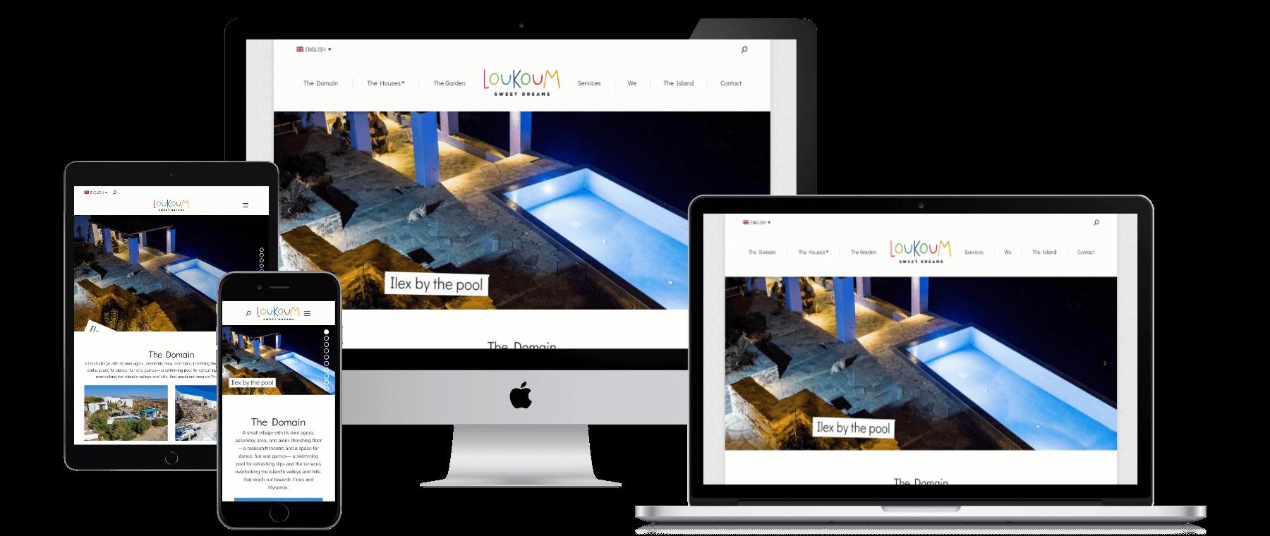 Loukoum Website Responsive