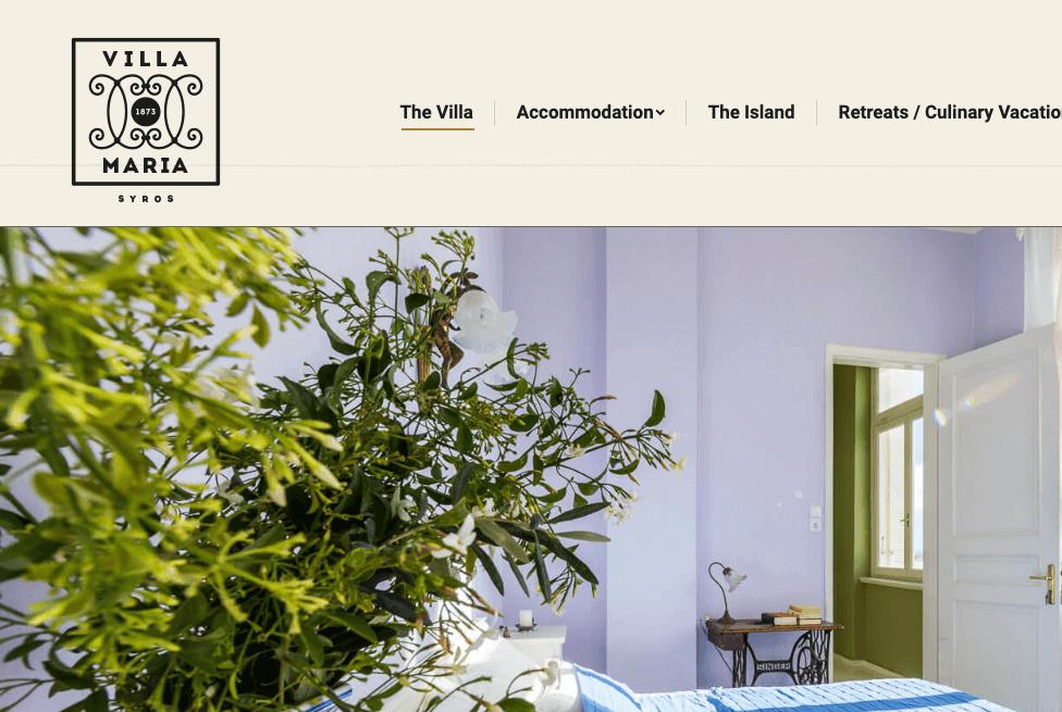 Villamaria Website 02