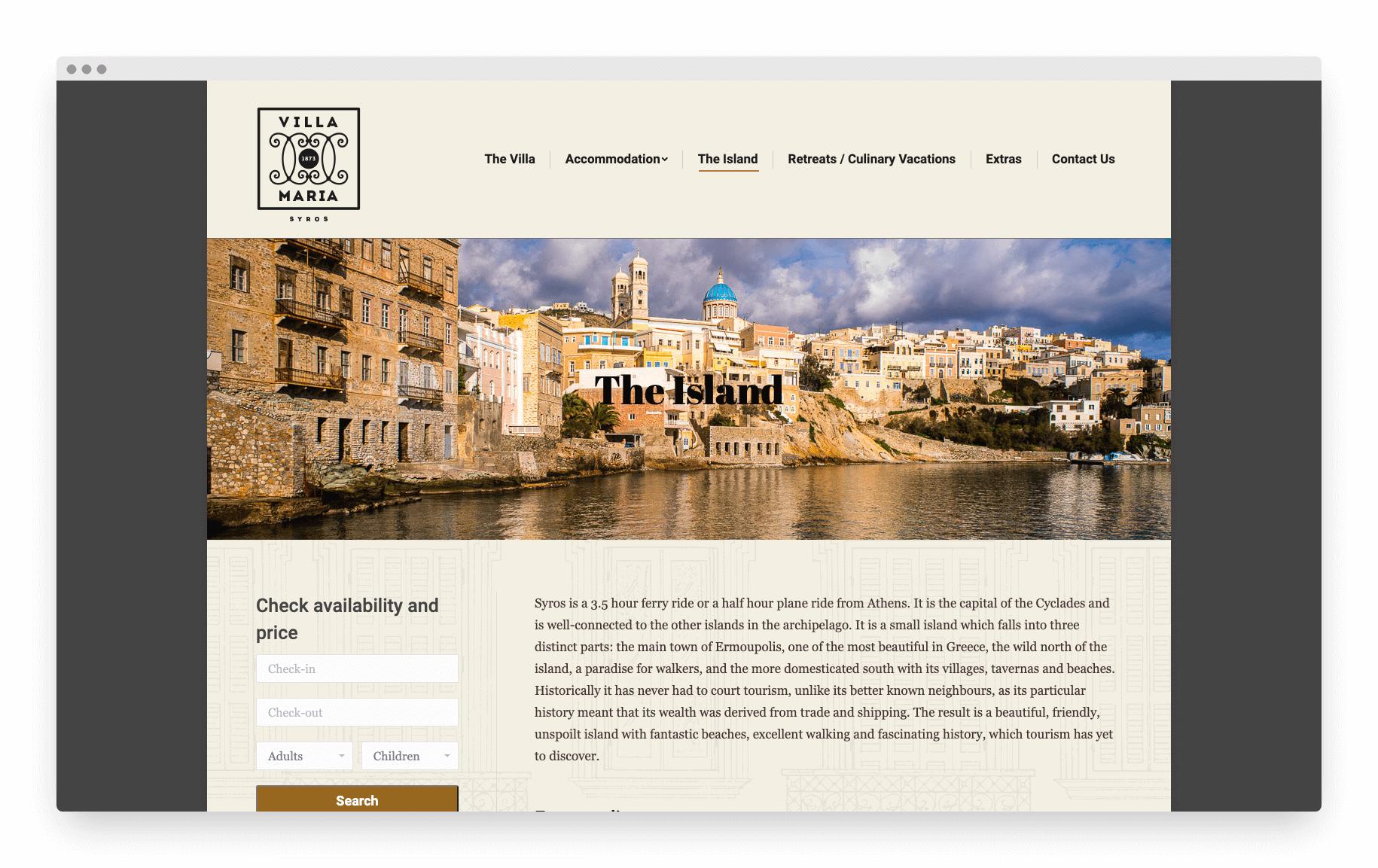 Villamaria Website 15