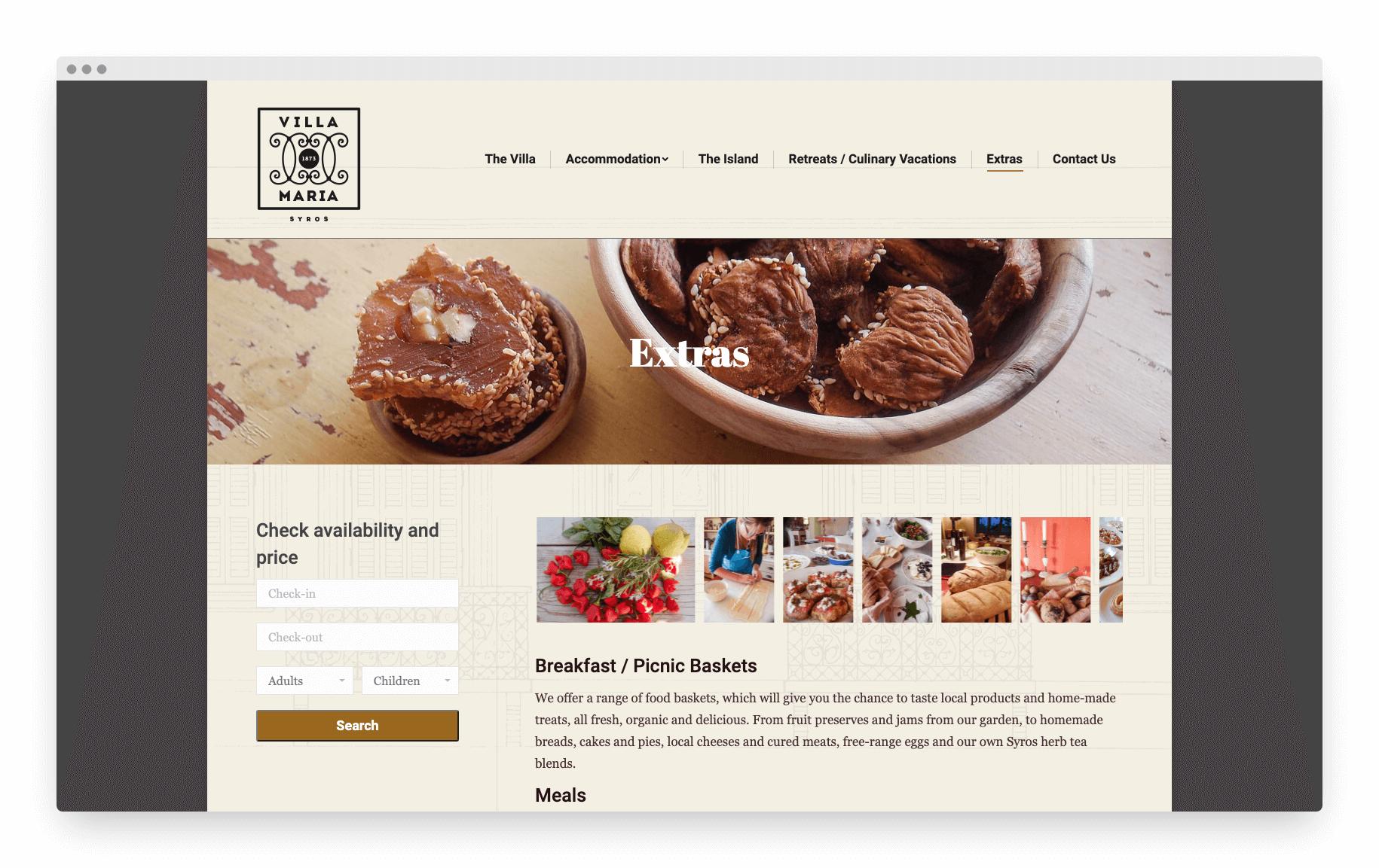 Villamaria Website 17