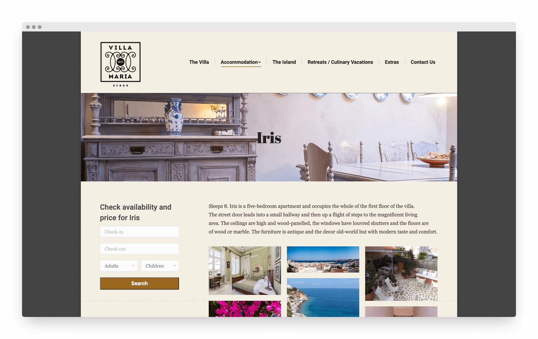 Villamaria Website 7