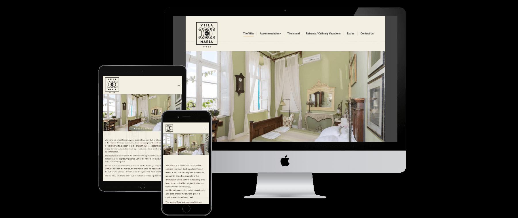 Villamaria Website Responsive