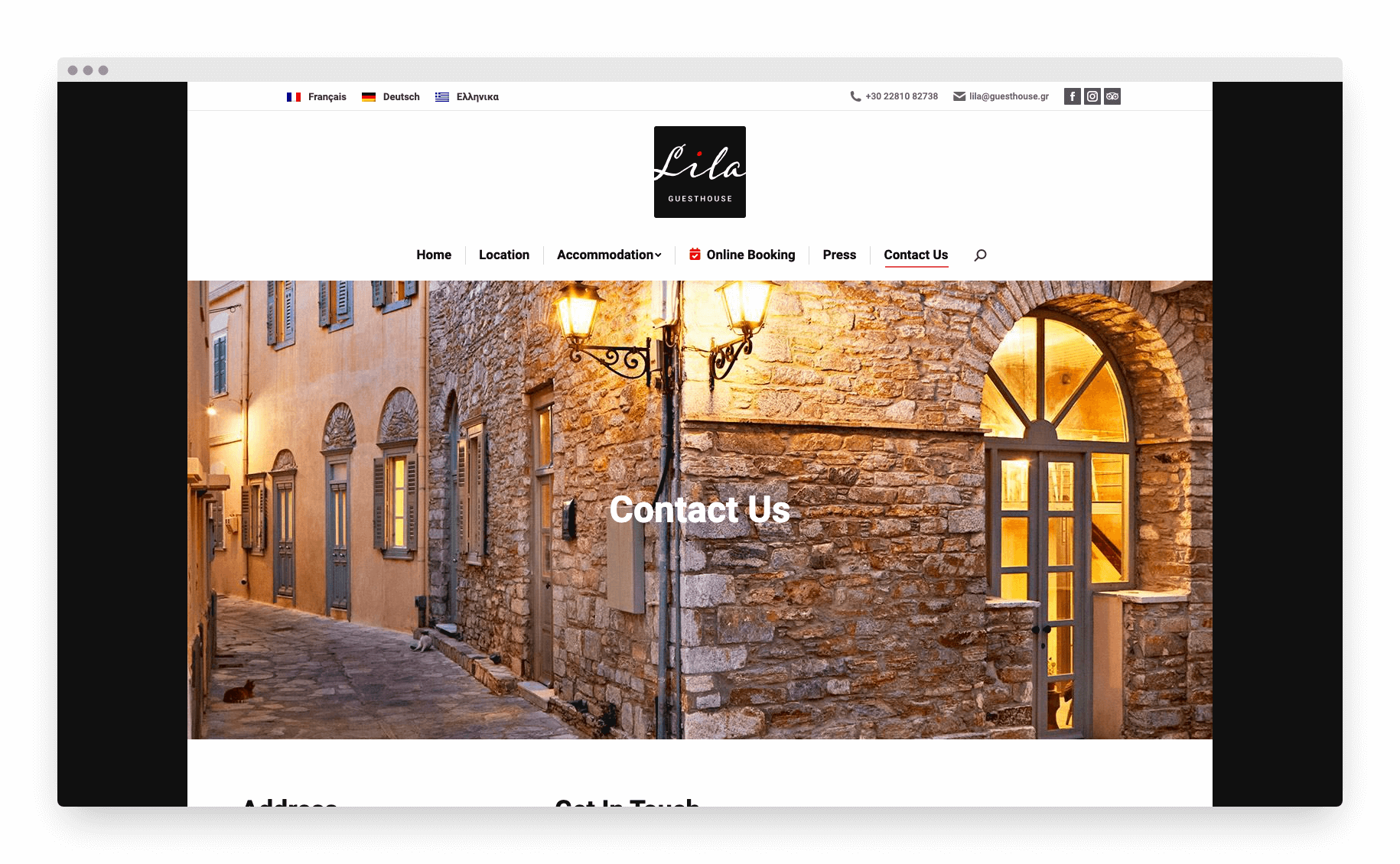 Lila Guesthouse Website 12